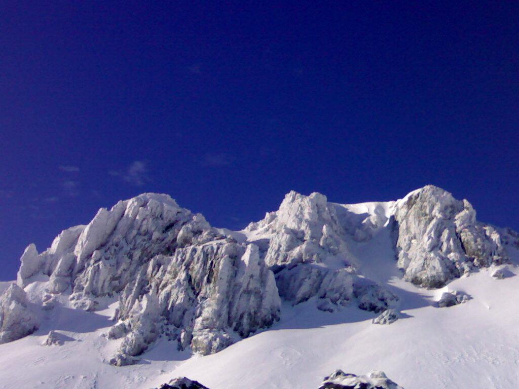 San Isidro nieve
